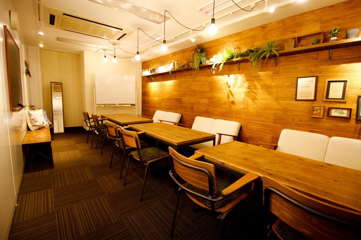 【駅徒歩1分・備品無料】カフェ風 おしゃれな会議室 銀座ユニーク GINZA Room【東銀座・銀座・有楽町・東京】 の写真