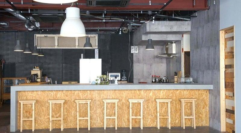 《EATLAB》ゆったり5mのオープンカウンター付きキッチンスペース!2019OPEN✨