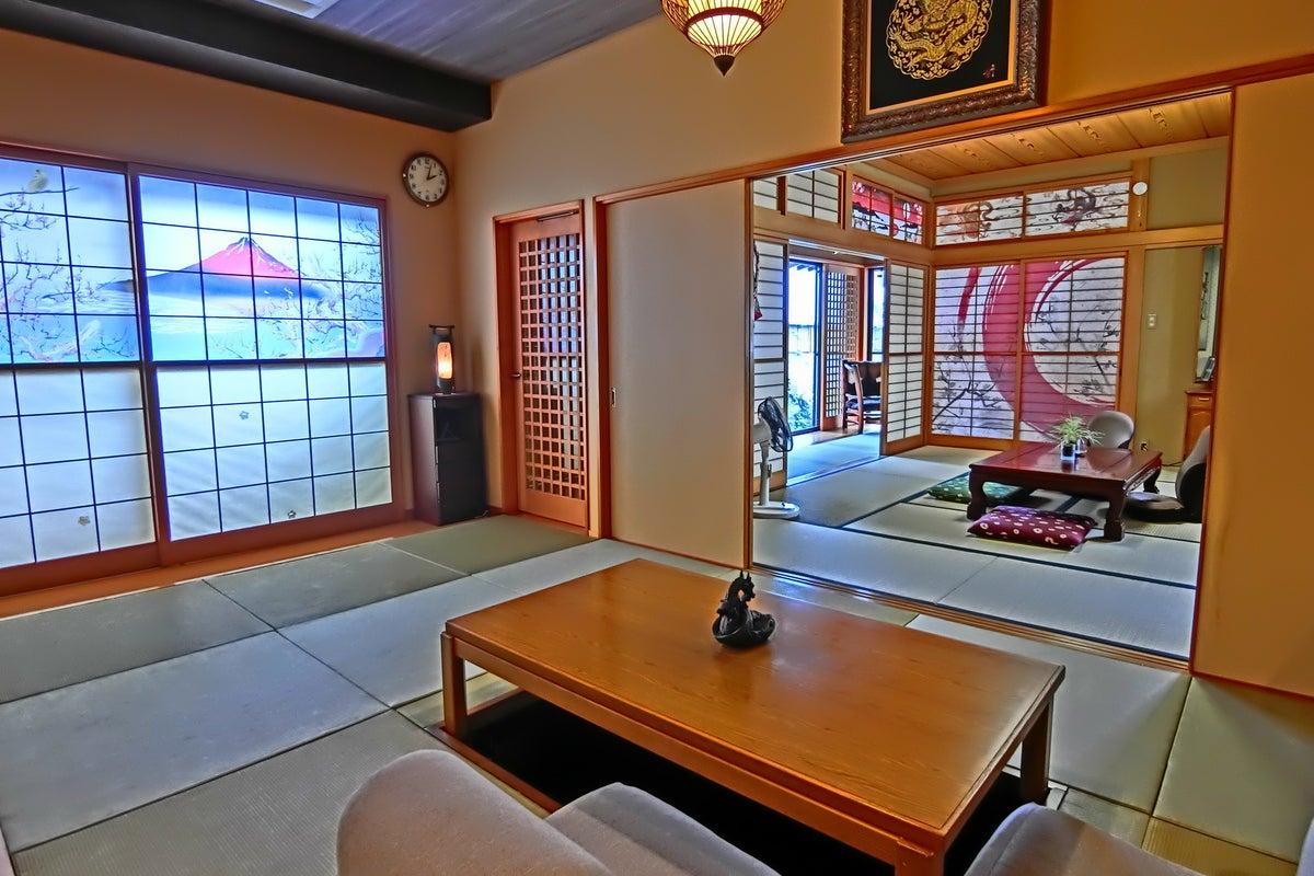 大宮にある日本庭園スタジオ、記念撮影、コスプレ撮影、習い事、お茶会、ヨガレッスン、研修、グループカウンセリング の写真