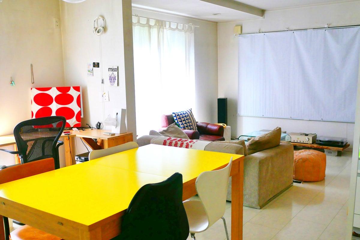 【セール中】おしゃれルーム☆キッチン/プロジェクター/WiFi/女子会/料理/上映/オフ会/〜8名 の写真