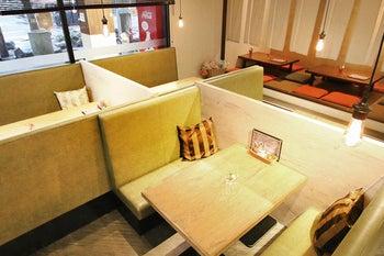南砺市のショッピングセンターアミュー内にあるカフェスペース!多目的なご利用が可能です! の写真