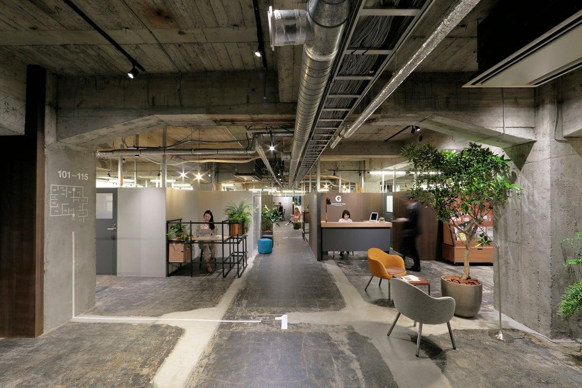 【関内駅直結のシェアオフィス・貸会議室】G Innovation Hub Yokohama ミーティングスペース8 の写真
