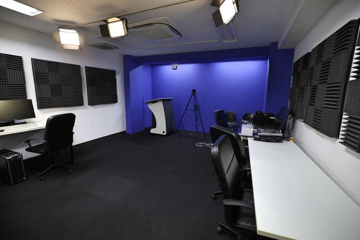 【駒込駅から徒歩5分】クロマキースタジオ撮影プラン(B)wi-fi・モニター完備✨ の写真