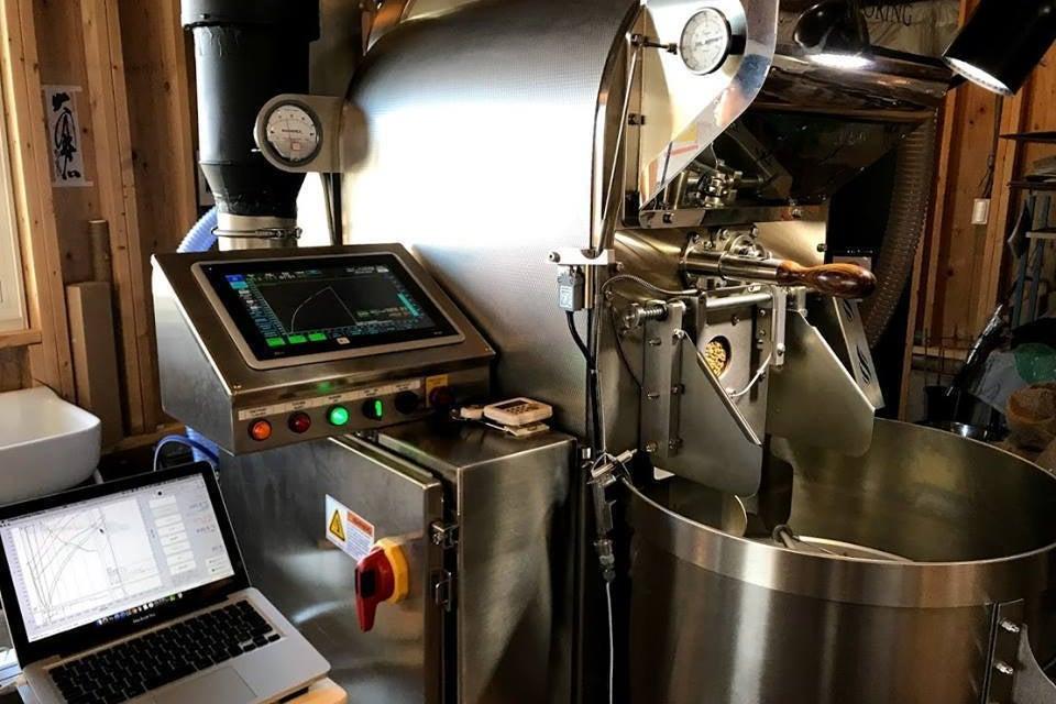 コーヒー焙煎機時間貸 の写真