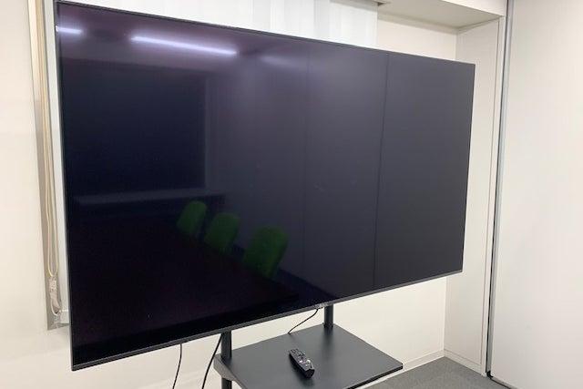 【大和駅徒歩5分】<会議室B>少人数の会議に最適♪無料Wifi・有線LAN・液晶モニター完備! の写真
