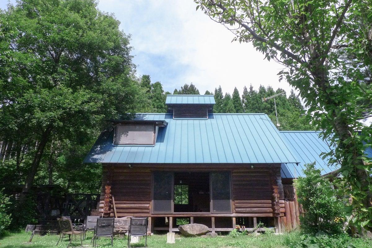 kaso空間 上山ログハウス 神秘的なダム湖を望む、プライベートスペース!イベントやCM・映画等の撮影にピッタリ!! の写真