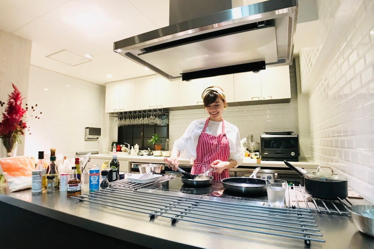 【Talk Kitchen Studio 】本格的なキッチン/衛生管理 毎回除菌・清掃(パーティ/料理教室/セミナー/撮影) の写真