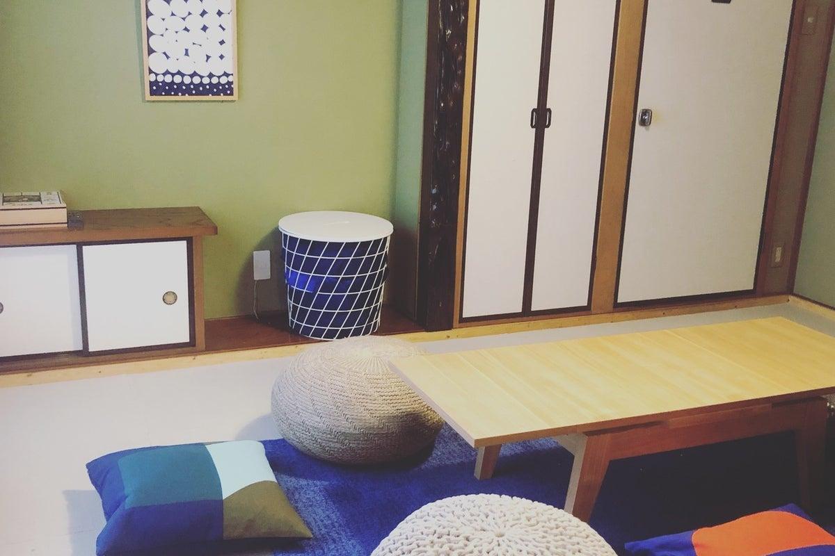 【コワーキング喫茶cosoadot】町田/イベント/セミナー/ママ会/お子様歓迎♩池には金魚中庭のある和カフェ風スペース。 の写真
