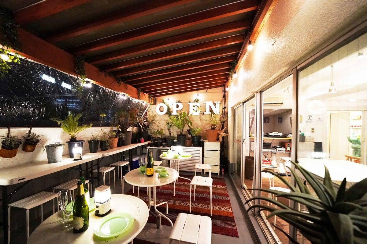 【渋谷、原宿徒歩6分】テラス付きプライベートスペース、ソラテラス✨パーティー、女子会、誕生日会、オフ会、インスタ映え間違いなし🌟 の写真