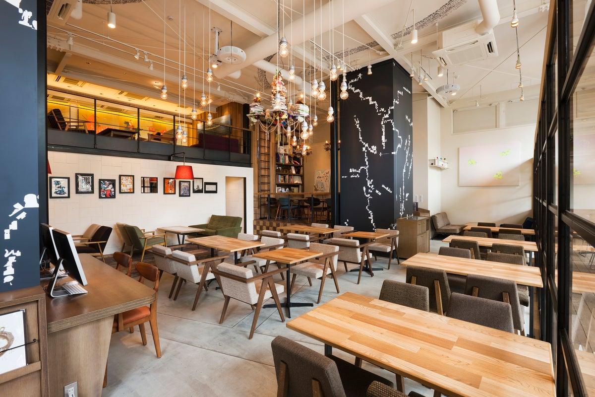 おしゃれで広大なカフェ‼︎テレビ撮影の依頼など問い合わせ多数のお店 の写真