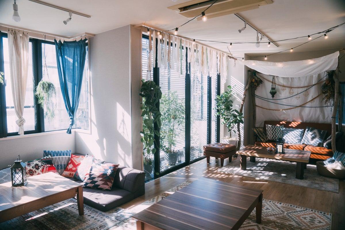 【自然光・日当たり良好】PV撮影・雑誌掲載実績ありのグランピングをテーマにしたプライベートスペース の写真