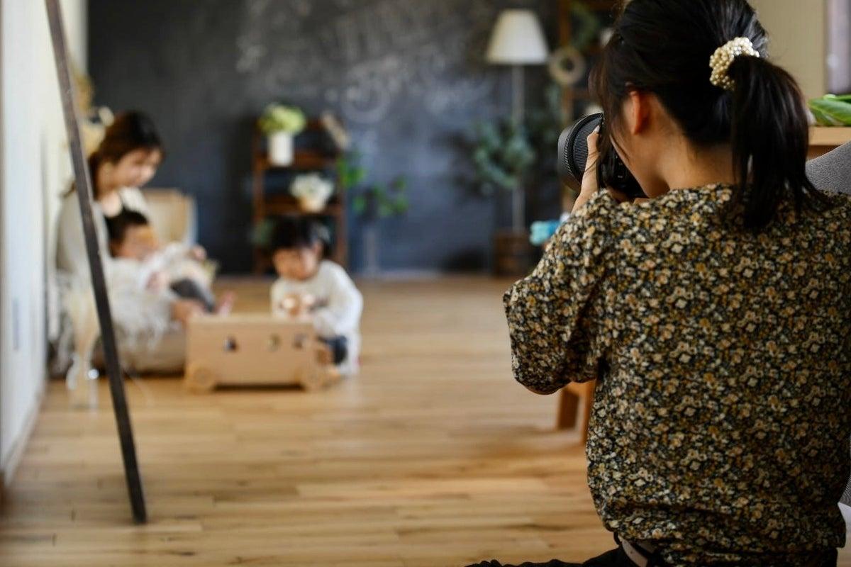 【駐車場2台有り 1棟貸し✩撮影・会議室など】無垢床と塗り壁の優しいレンタルスタジオ 1,500円/1h Wi-fi完備 の写真