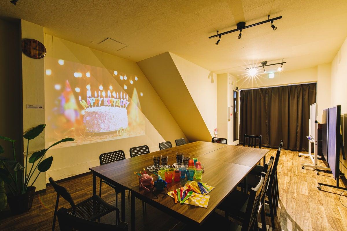 広々50㎡の空間を貸切・大人数向き・会議やパーティ・1階でバリアフリー・今里駅(近鉄&地下鉄) の写真