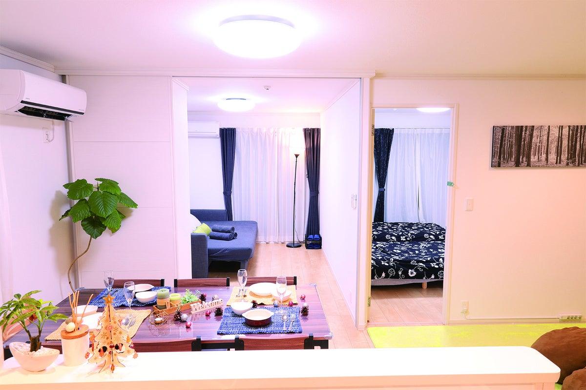 駅から徒歩6分/ 新築の3LDKのお部屋!飲み会・ママ会・誕生日会・プロジェクターやゲームも完備! の写真