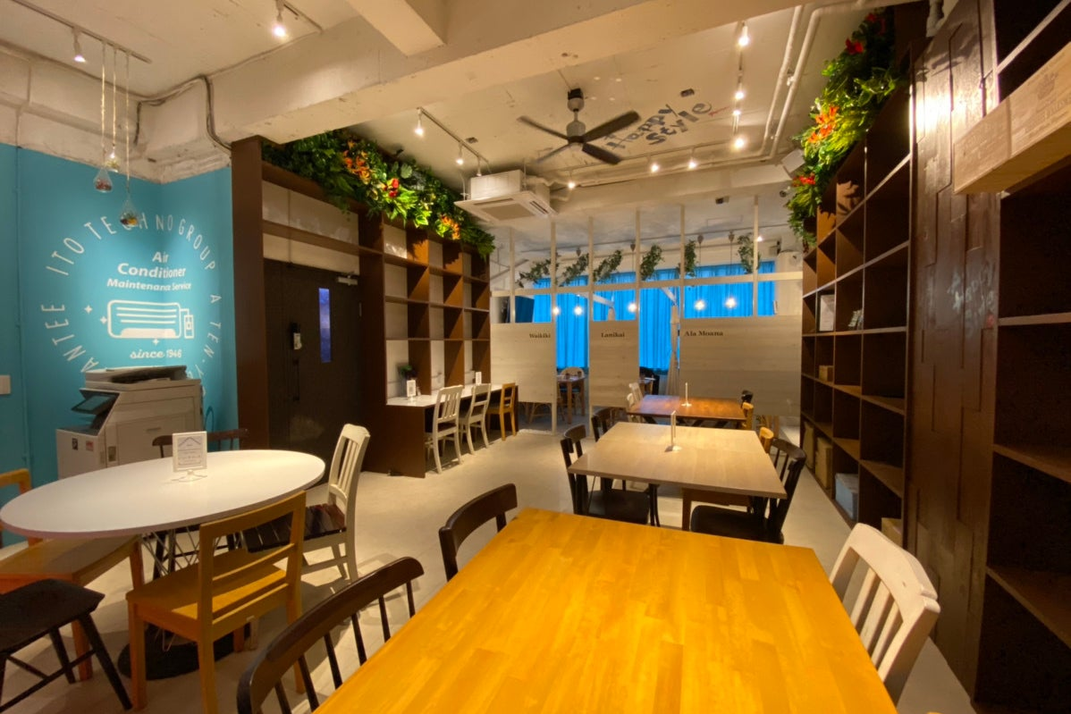 【リゾート地のような開放的な空間!】大人数対応/レンタルスペース/各種イベント/飲食持ち込み可 の写真