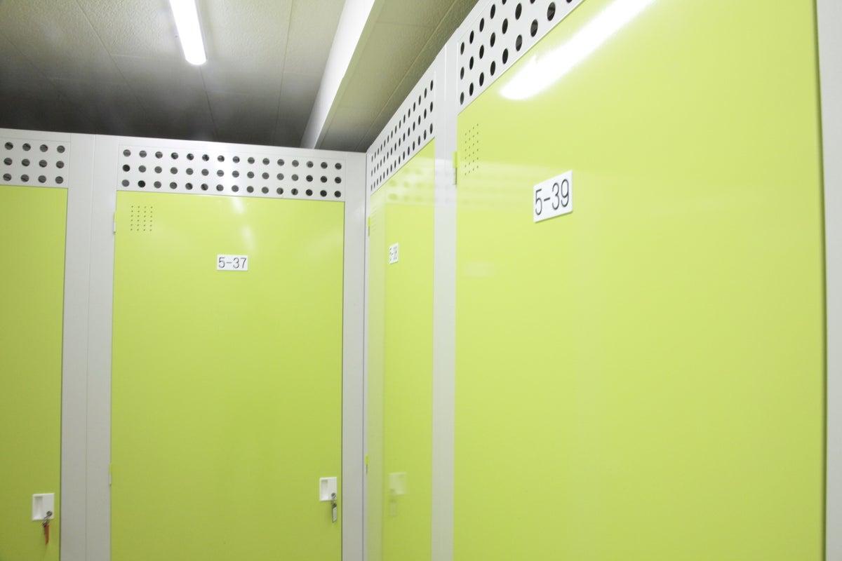 屋内型トランクルーム(収納の問題がワンストップで解決!) の写真