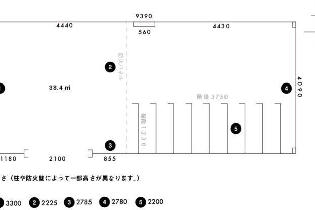 【梅小路京都西駅5分】展示会や招待制イベントに適したコンクリートが印象的なギャラリー の写真