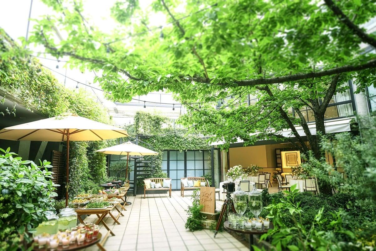 パラッツォドゥカーレ麻布/六本木徒歩2分 ガーデンで換気抜群! 撮影や宴会に の写真