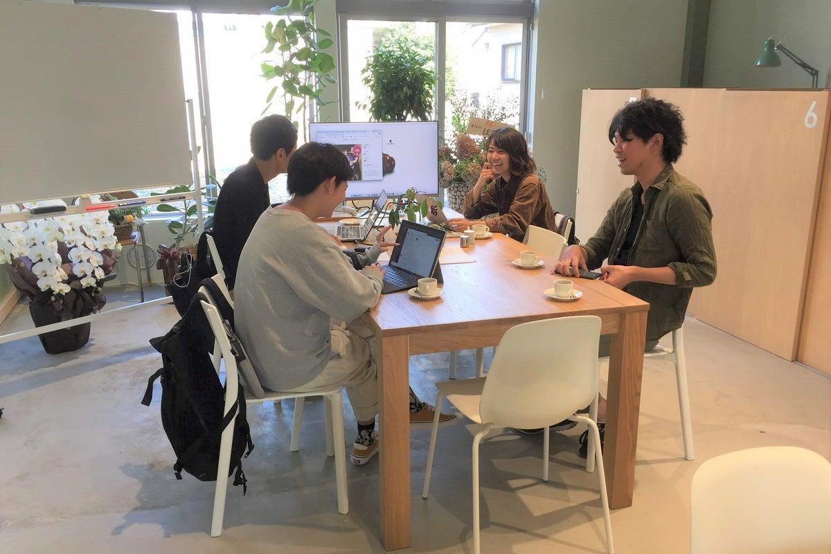 カフェ・オフィス併設のレンタルスペース!ワークショップ、教室、会議、イベントなどでご利用ください! の写真