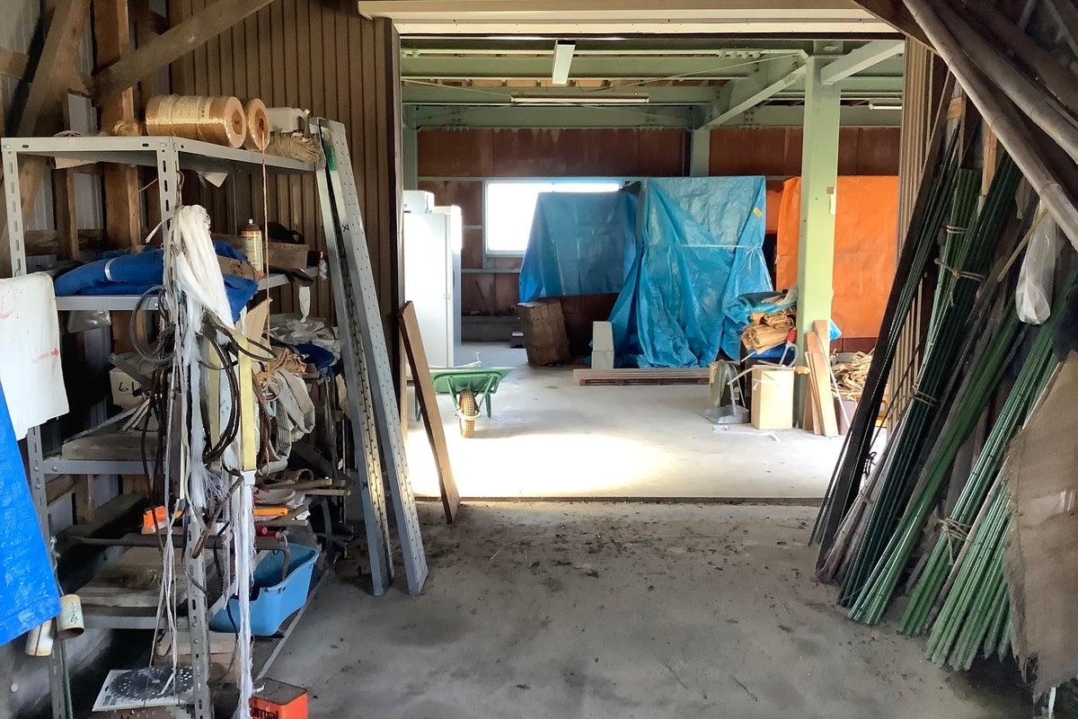 この倉庫、使い方自由! の写真