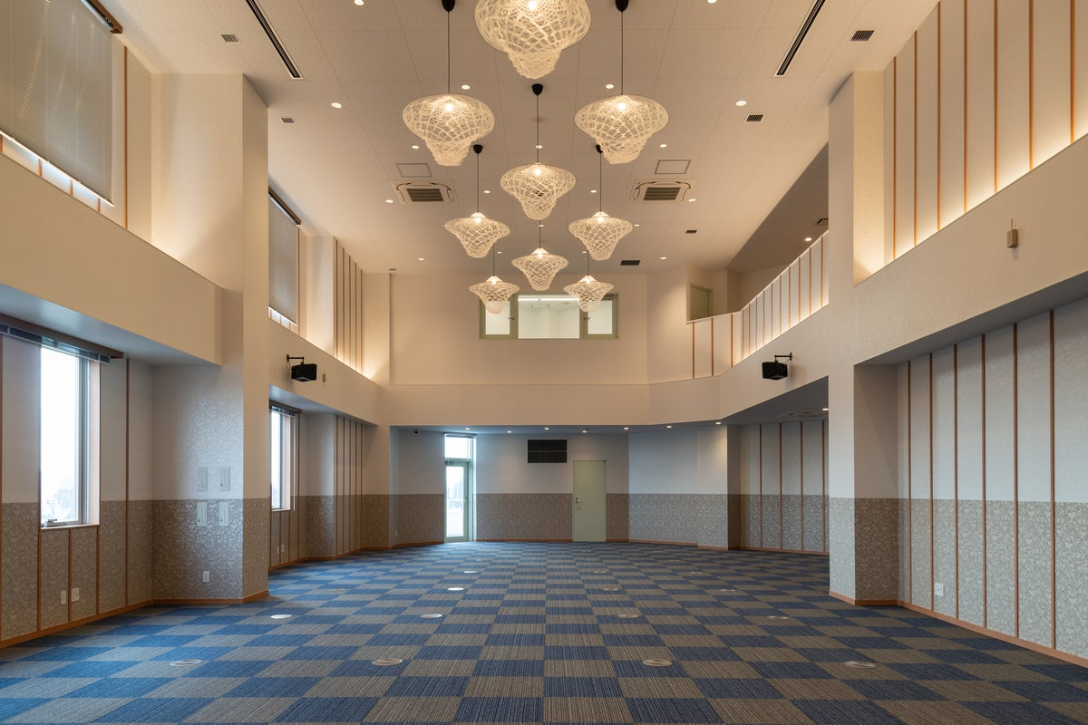 【東池袋20秒】新築でクリーン、広々、高級感あるレンタルホール9階 の写真