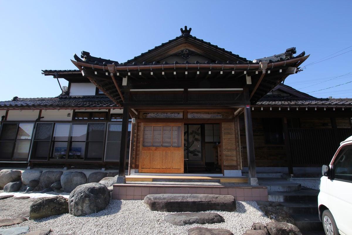 古民家複合施設です。 一軒の家を、まるで別荘のように使える隠れ家的施設です。 の写真