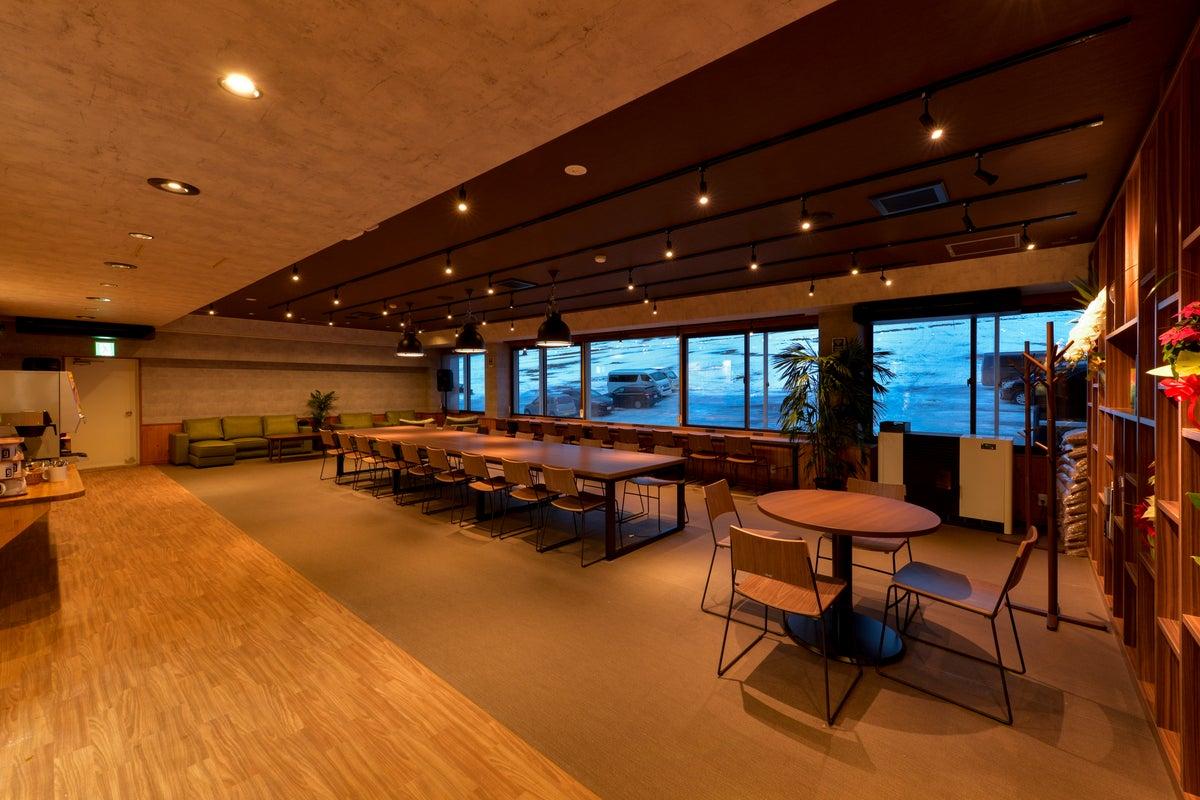 蔵王の自然に囲まれたモダンな空間!WS、会議や飲み会等、多目的に使えます。近くに温泉もございます! の写真