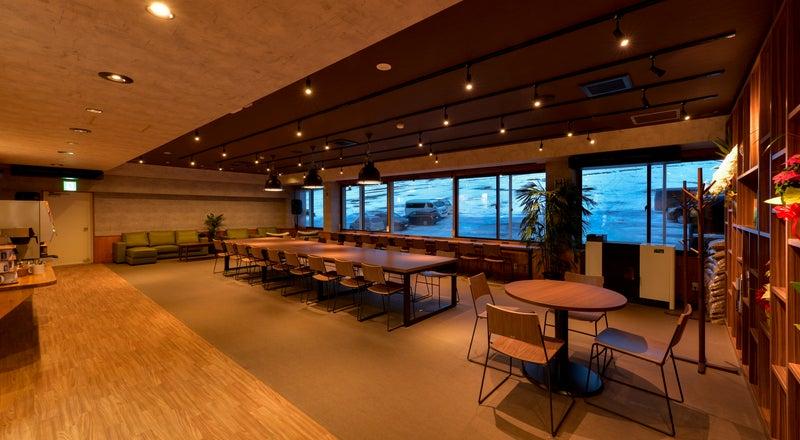 蔵王の自然に囲まれたモダンな空間!WS、会議や飲み会等、多目的に使えます。近くに温泉もございます!
