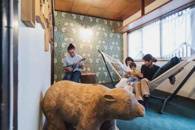 大正時代の築100年長屋を1軒貸切!和と祭がコンセプトの畳の家 の写真