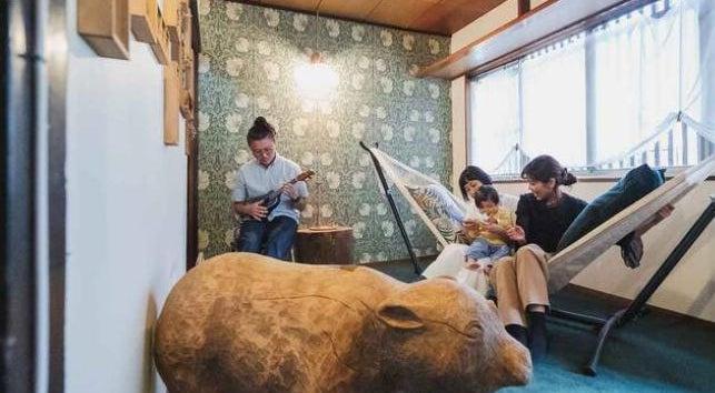 大正時代の築100年長屋を1軒貸切!和と祭がコンセプトの畳の家