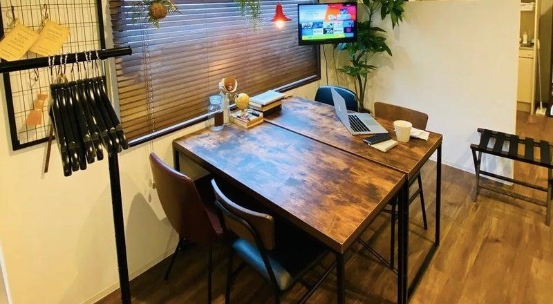 テレワーク応援スペース【3F】📣📣 アパートメント型ホテル【両国】完全個室 法人・長期利用可能