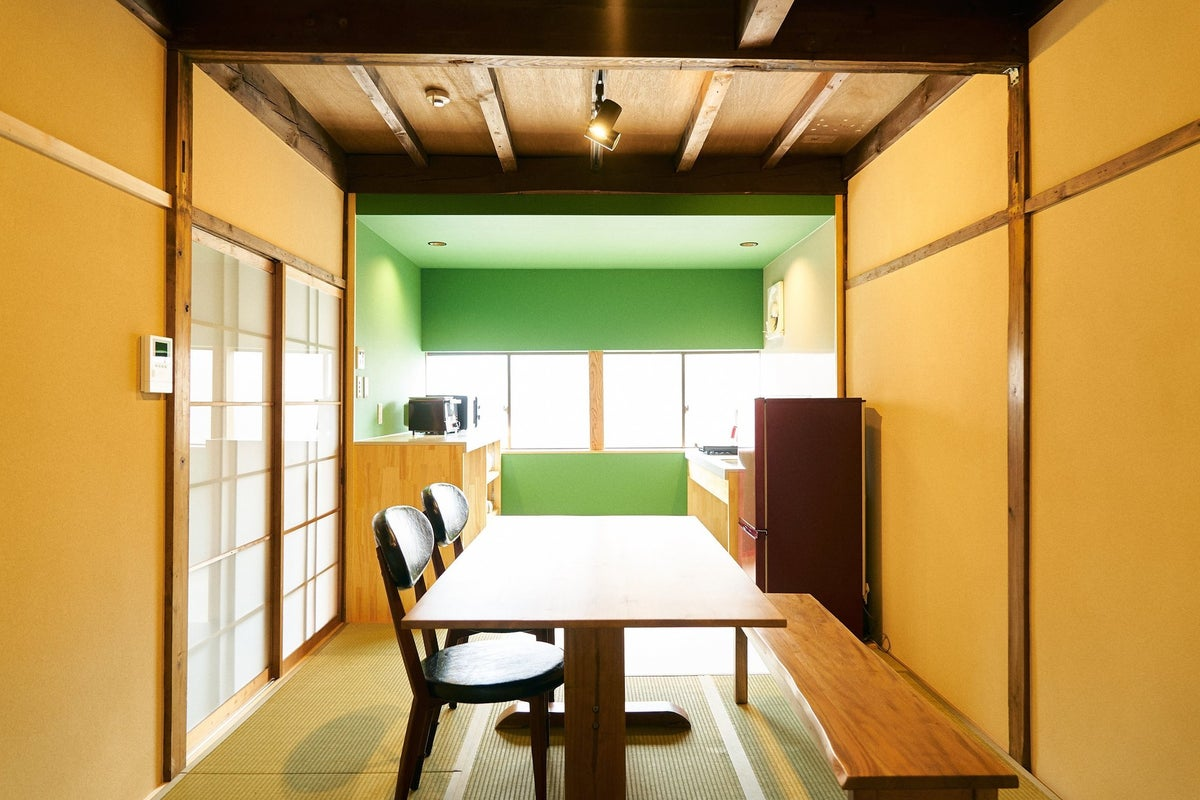 【Hyotan旅音】キッチン付町家/対談や写真撮影などに最適!インスタ映えの家 の写真