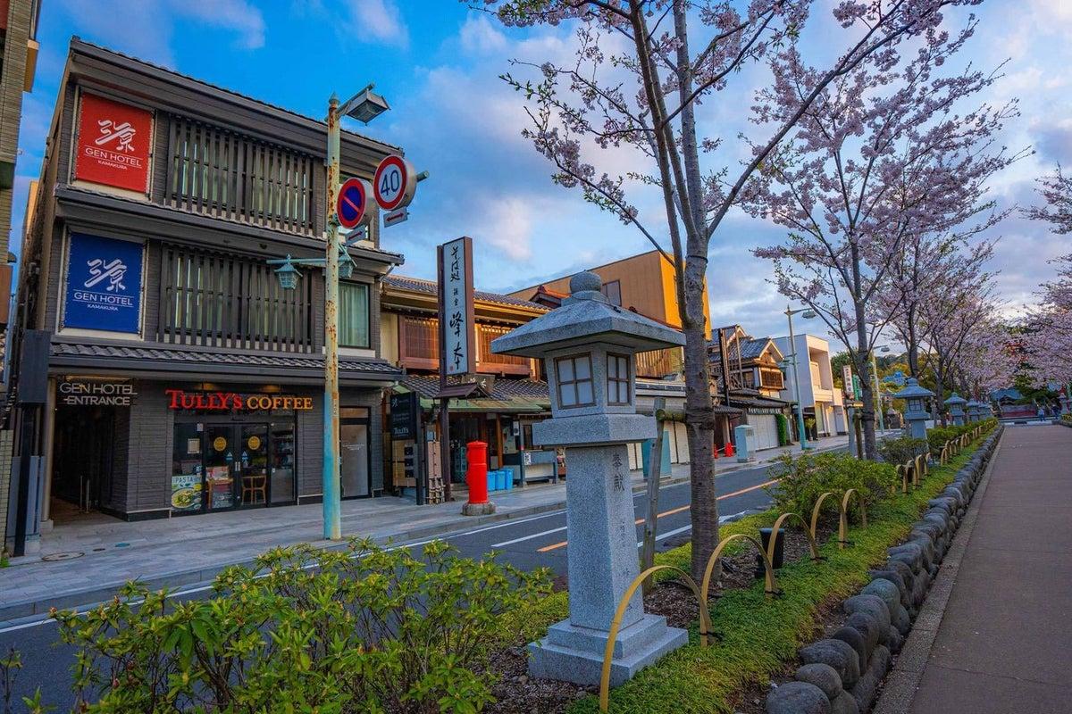 ルーフトップテラス 源ホテル鎌倉 の写真