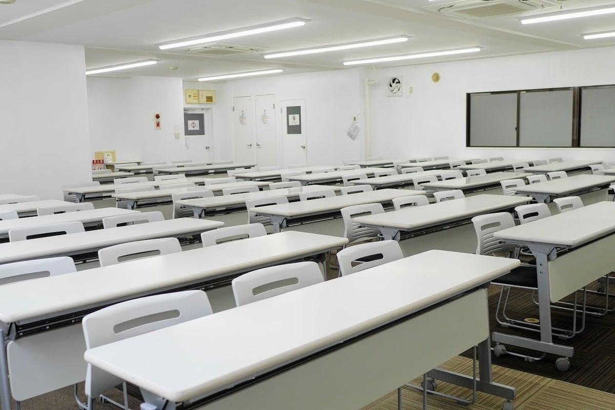 【茅場町】135平米の広々空間!セミナーや研修におすすめの貸し会議室(4階大会議室) の写真