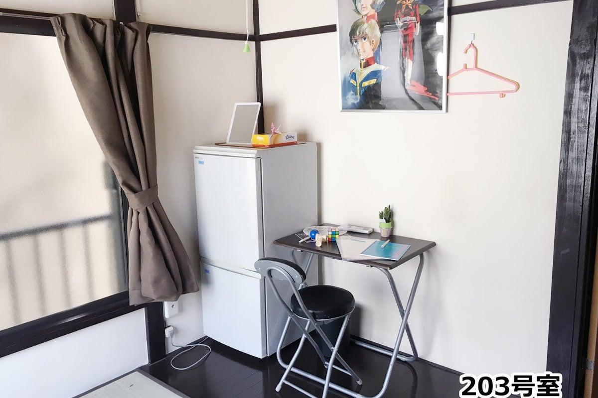 千早Ⅳの隠れ家・<203室8㎡+押入れ>シェアハウスでテレワークお一人様を歓迎いたします。 の写真