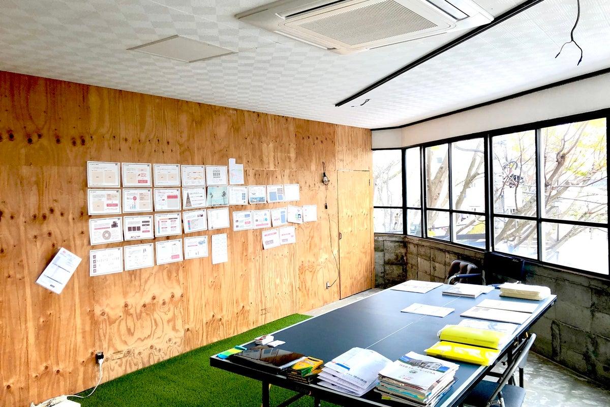 シェアオフィス、個室あり、会議室、ブレストルームに、屋上テラスとスペース盛りだくさん の写真