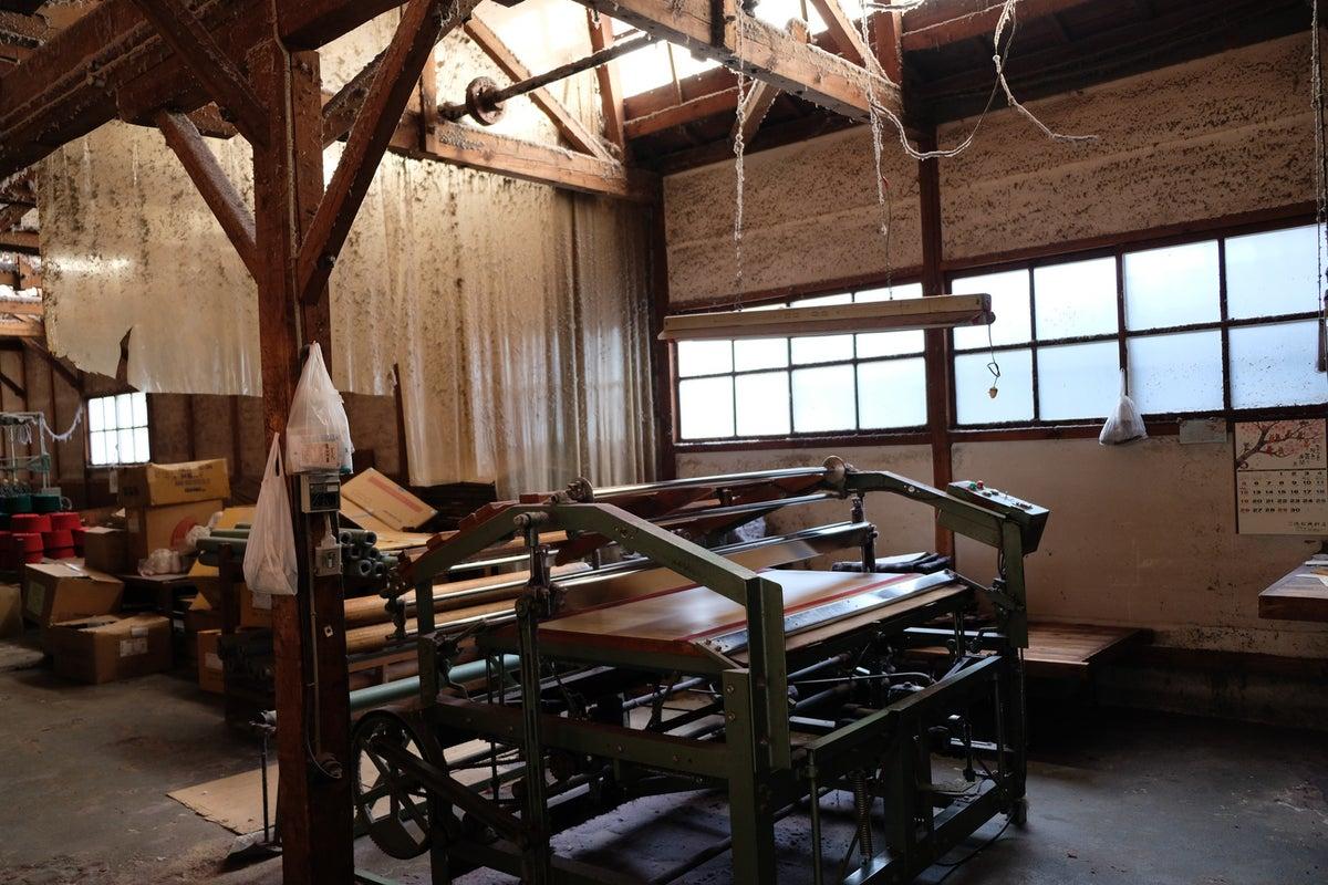 【工場】雰囲気ある織物工場で撮影等に!! の写真