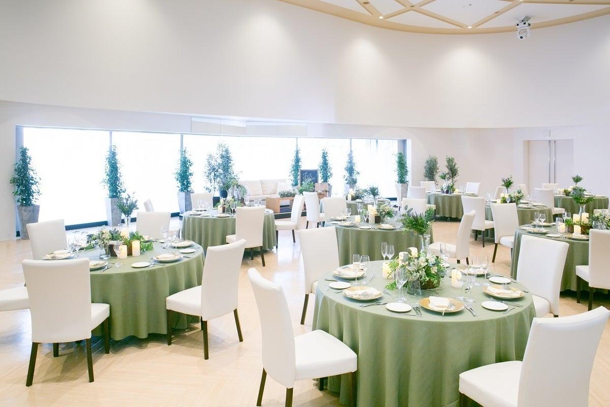 【フリースペース】埼玉 入間 圧巻の360°パノラマスクリーンで広がるパーティ会場 の写真