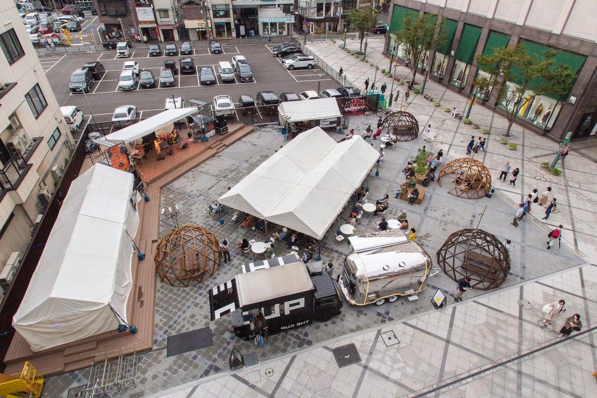 まちなかの屋外イベントスペース!企業プロモーションや自治体関連のイベントに! の写真