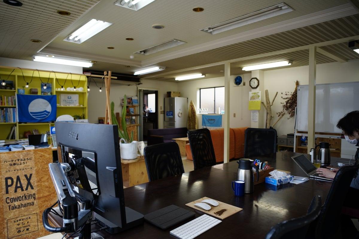 コワーキングスペース【PAX Coworking Takahama】 の写真