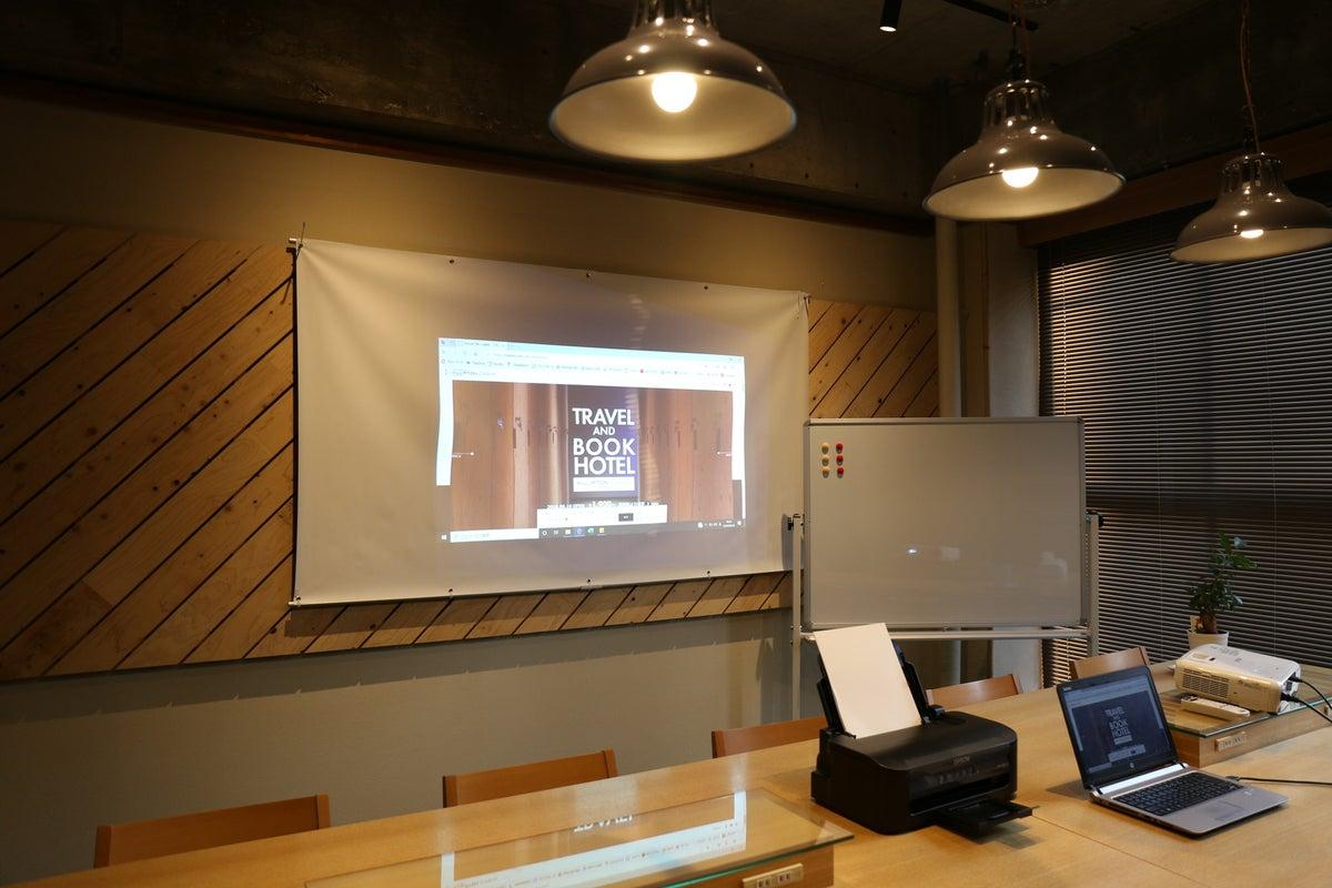 【ビジネスに鑑賞会に】会議室として、鑑賞会の利用として◎ の写真