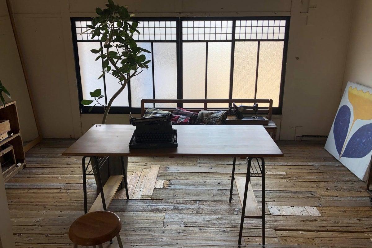 【京町屋2階リノベーションスペース】ワークショップ・1DAYSHOP・展示会・撮影などに の写真