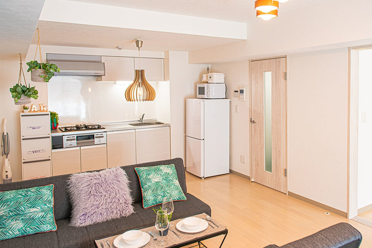 New open 両国 ★宿泊可能★3F アクセス便利な多目的スペース キッチン付きリビングダイニング貸切  の写真