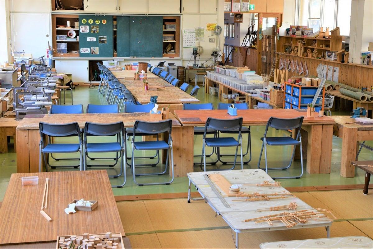かつての学校がスペース!どこか懐かしい空間と施設周りの大自然! の写真