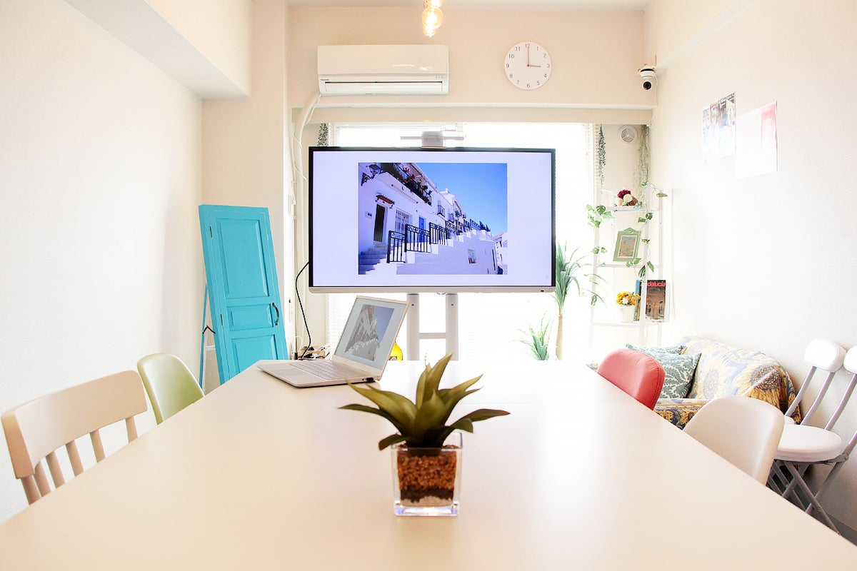 ✨【アンダルシア会議室】高田馬場2分 ✨ お洒落なスペース 🌸 撮影や会議に最適!防菌対応💛 の写真