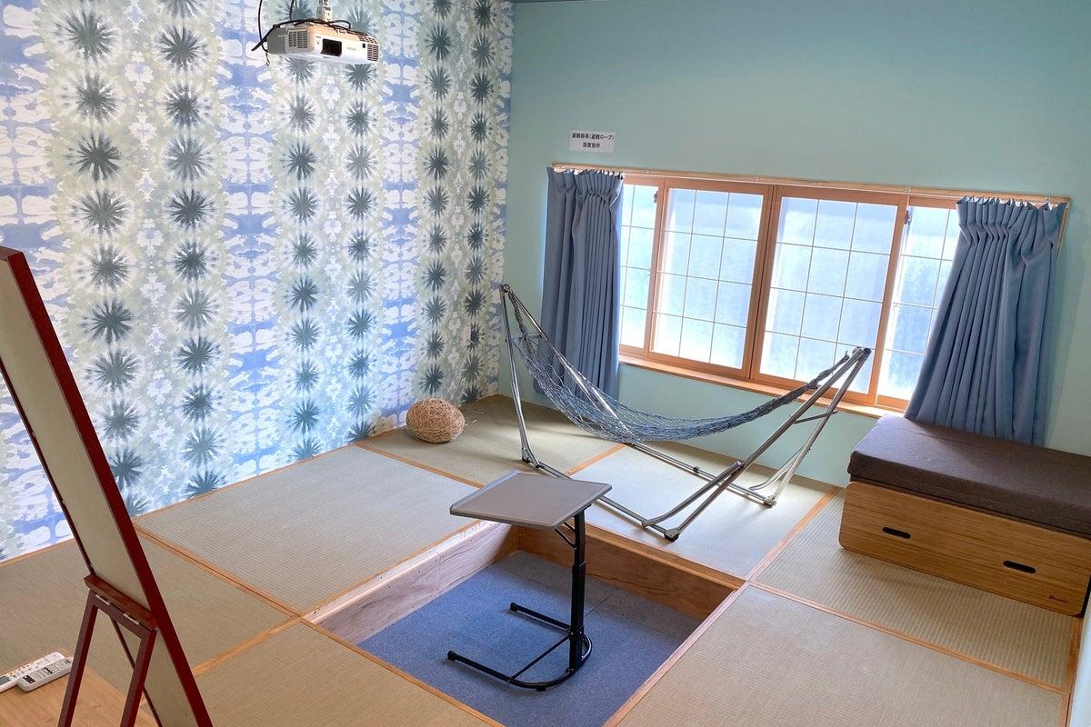 プロジェクター付き和室(テレワーク・コワーキング・映画鑑賞・ビジネス利用に) の写真