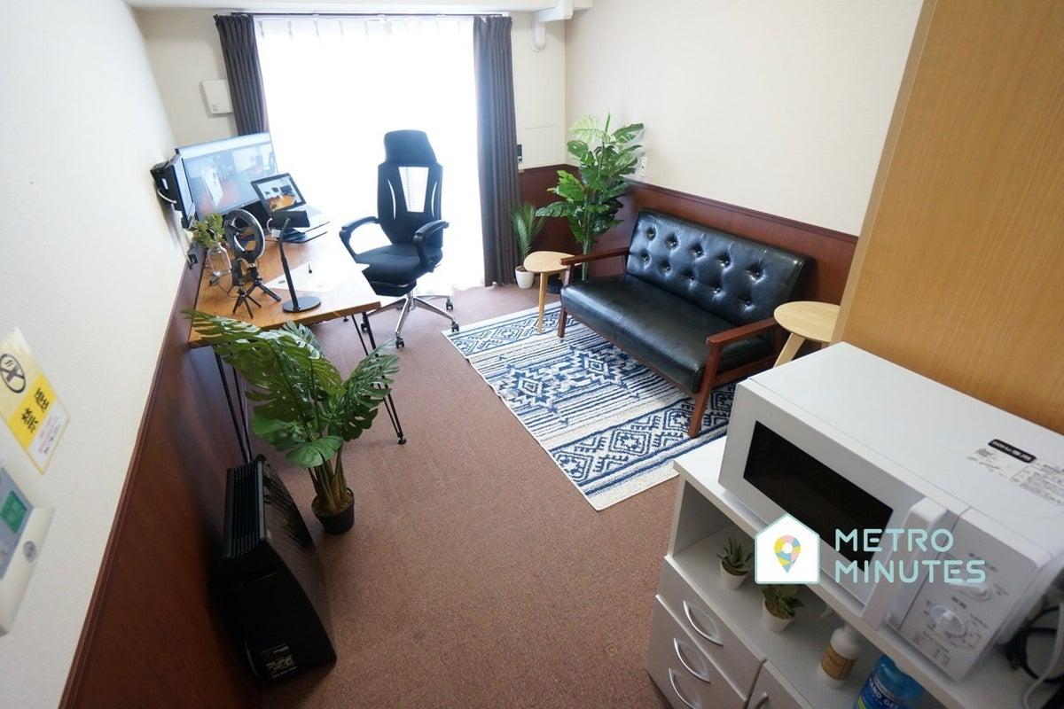 <ひふみミニマルオフィス602>オシャレな完全個室✨曲面モニターあり!テレワーク/Web会議,面接 の写真