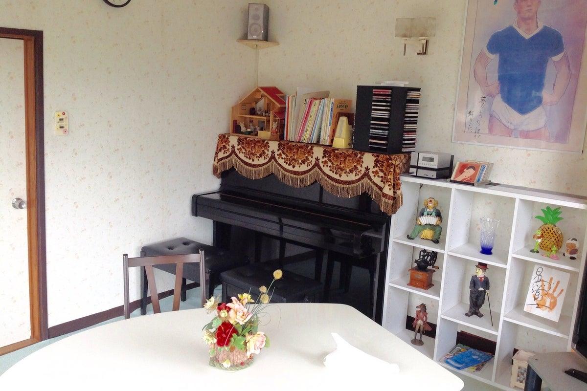 ピアノが弾ける明るい洋室 の写真