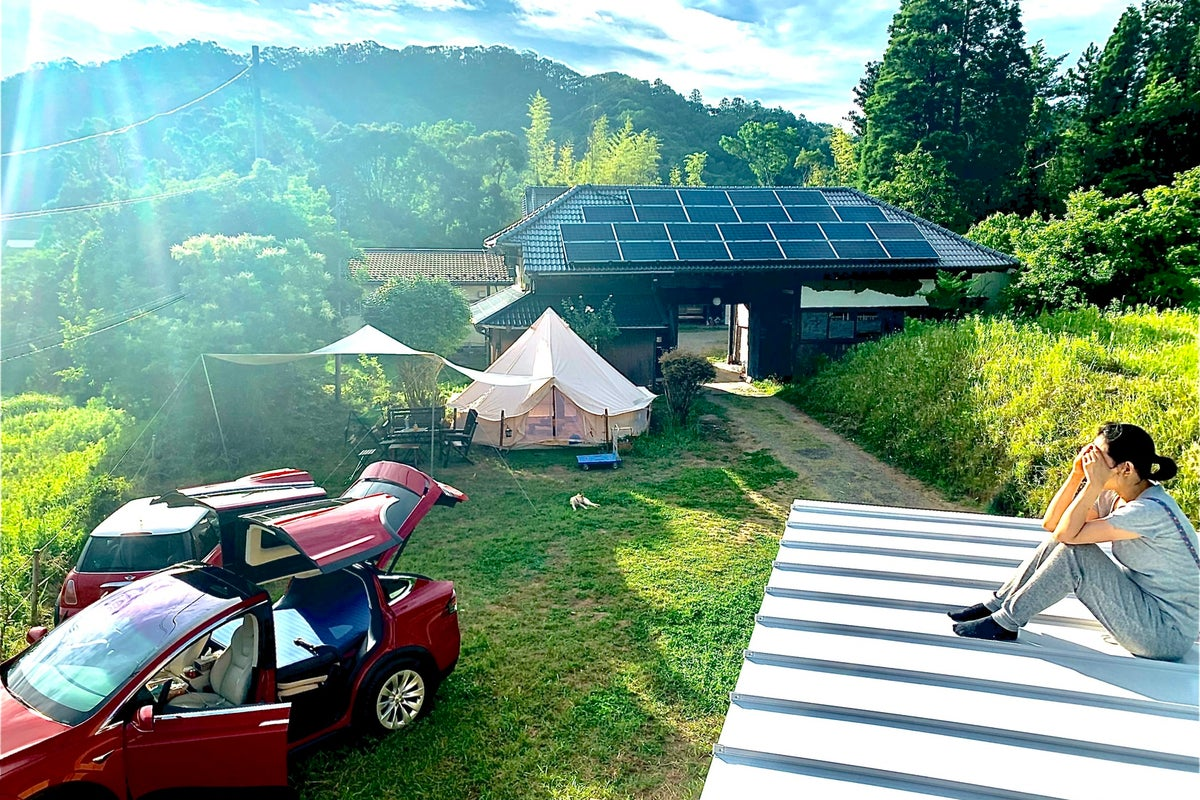自然の中の古民家&グランピング施設を貸切。イベンド、撮影、キャンプ、BBQ、花火、など何でもできる の写真
