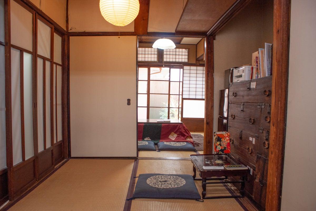 昔ながらの京町屋と銭湯でほっこり。芸術家の創作活動などに最適!集中できる空間です。 の写真